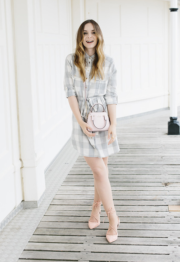 style shirtdress | How to Wear a Shirt Dress featured by popular Ohio modest fashion blogger, Dreaming Loud