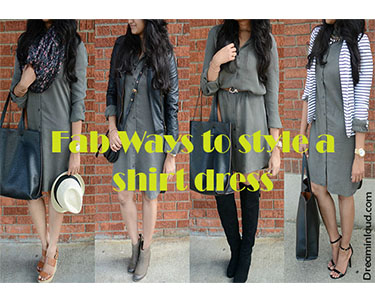Styling-shirtdress | How to Wear a Shirt Dress featured by popular Ohio modest fashion blogger, Dreaming Loud