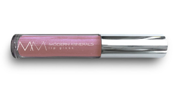 Modern_Minerals_Lip_Gloss_voilet-rose | | Best Natural Lipsticks for Everyday use featured by popular Ohio natural beauty blogger, Dreaming Loud: Modern Minerals Lip Gloss