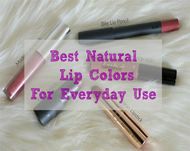 best-natural-lip-colors-for-everyday-use | Best Natural Lipsticks for Everyday use featured by popular Ohio natural beauty blogger, Dreaming Loud