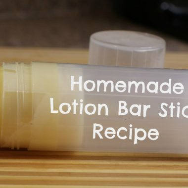 Homemade-lotion-bar-stick-recipe | Natural DIY Lotion Stick Recipe featured by popular Ohio natural beauty blogger, Dreaming Loud