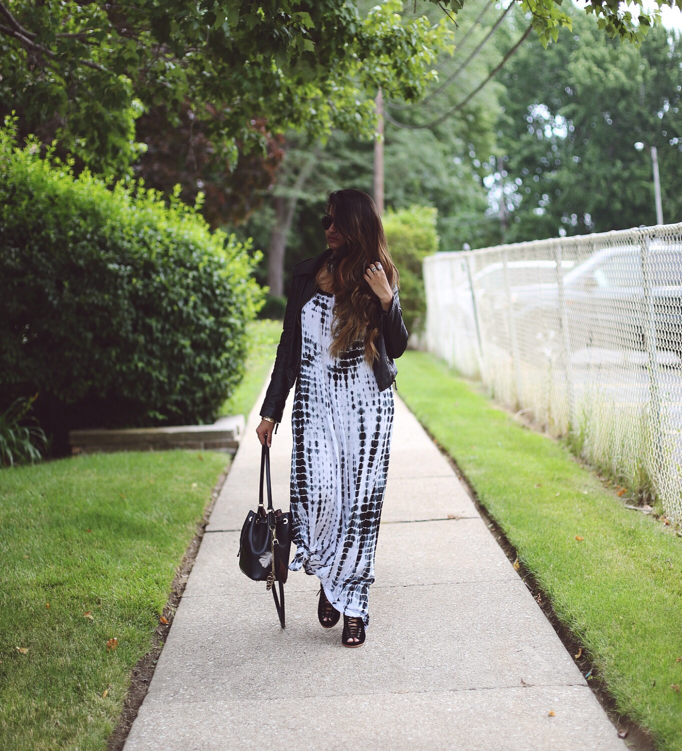 grunge-boho-style | Boho Grunge Outfit featured by popular Ohio modest fashion blogger, Dreaming Loud