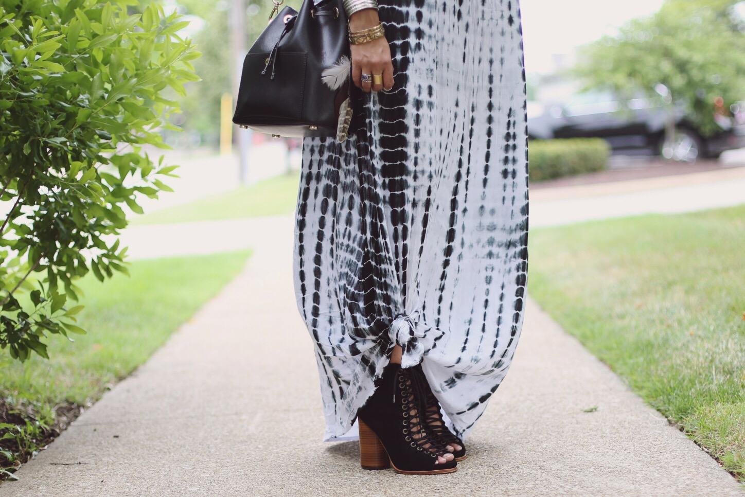 JEFFREY-CAMPBELL-FREE-LOVE-LACE-UP-HEEL | Boho Grunge Outfit featured by popular Ohio modest fashion blogger, Dreaming Loud