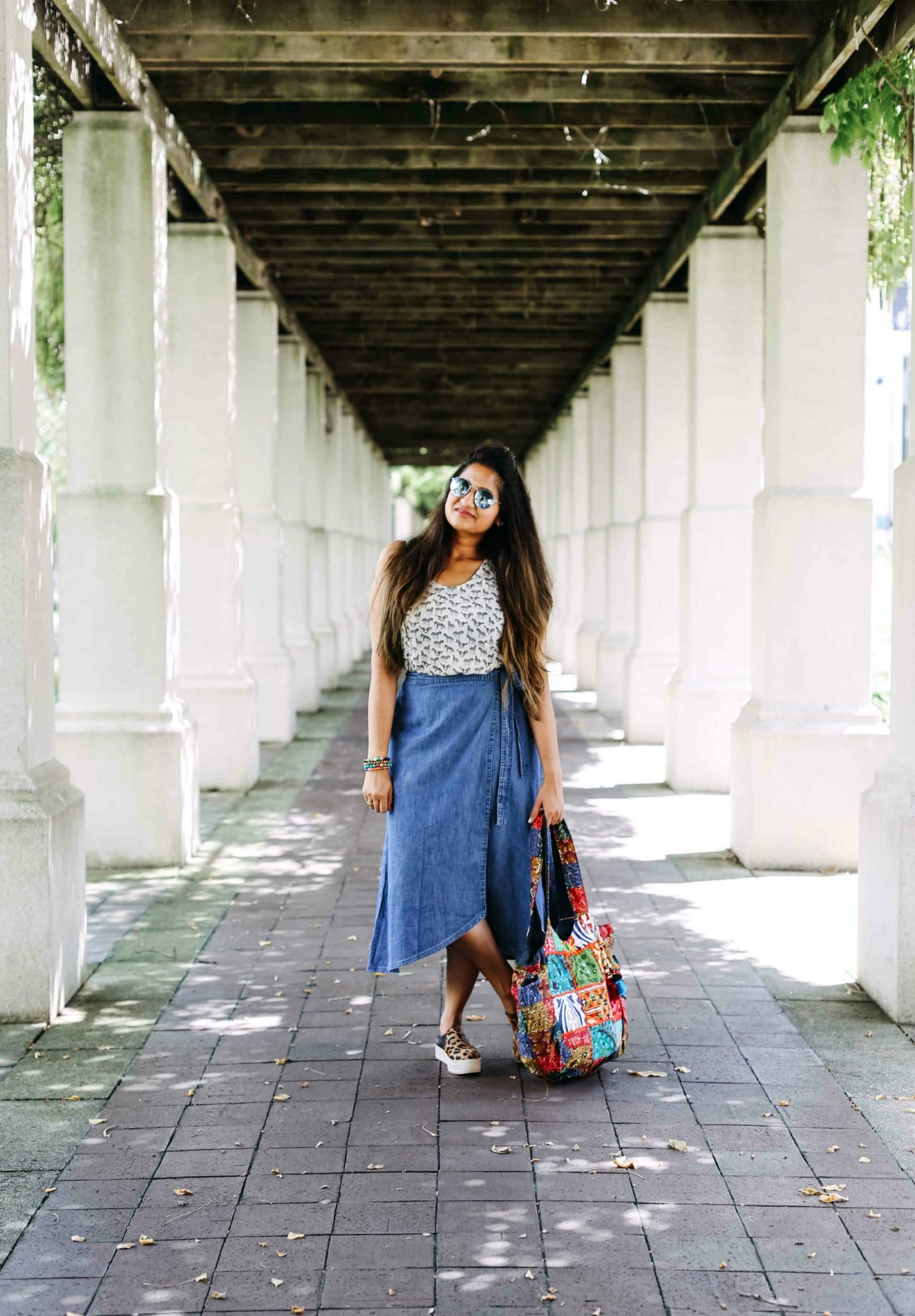 east meets West Indo-western fusion outfit