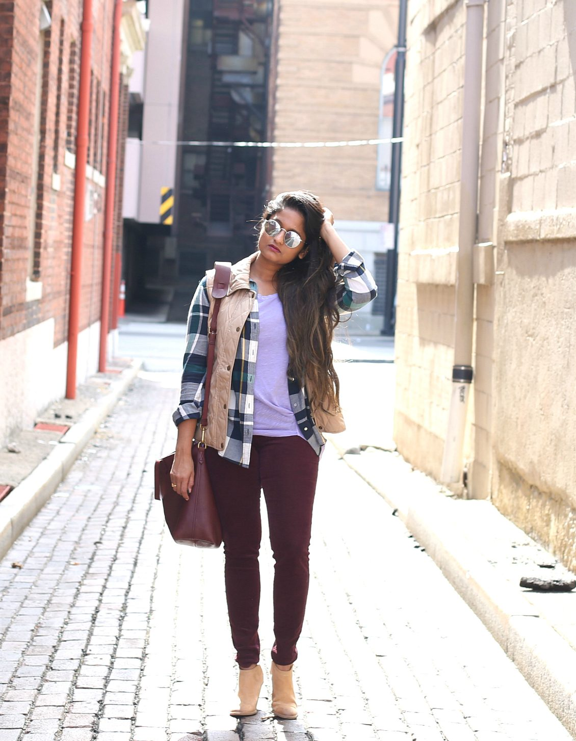 purple-green-khaki-fall-outfit