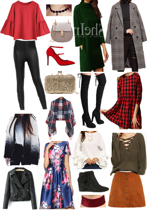 shein-holiday-favorites | Style | Christmas | Affordable Festive Clothing with Shein featured by top Ohio modest fashion blog Dreaming Loud