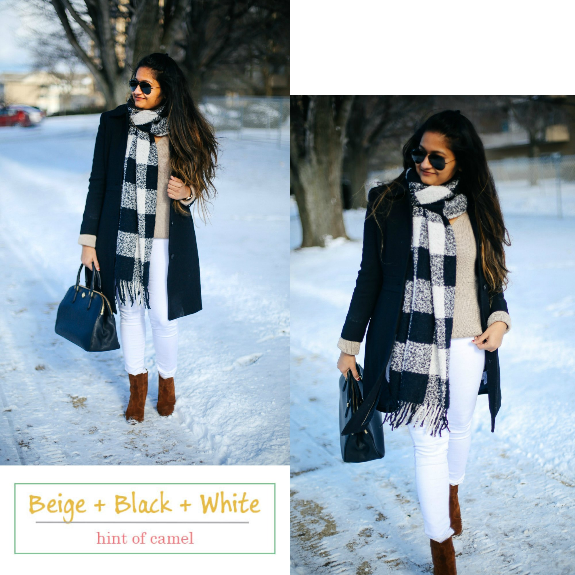 6-winter-neutral-color-combinations-you-should-try - 6 Winter Neutral Color Combinations featured by popular Ohio modest fashion blogger, Dreaming Loud