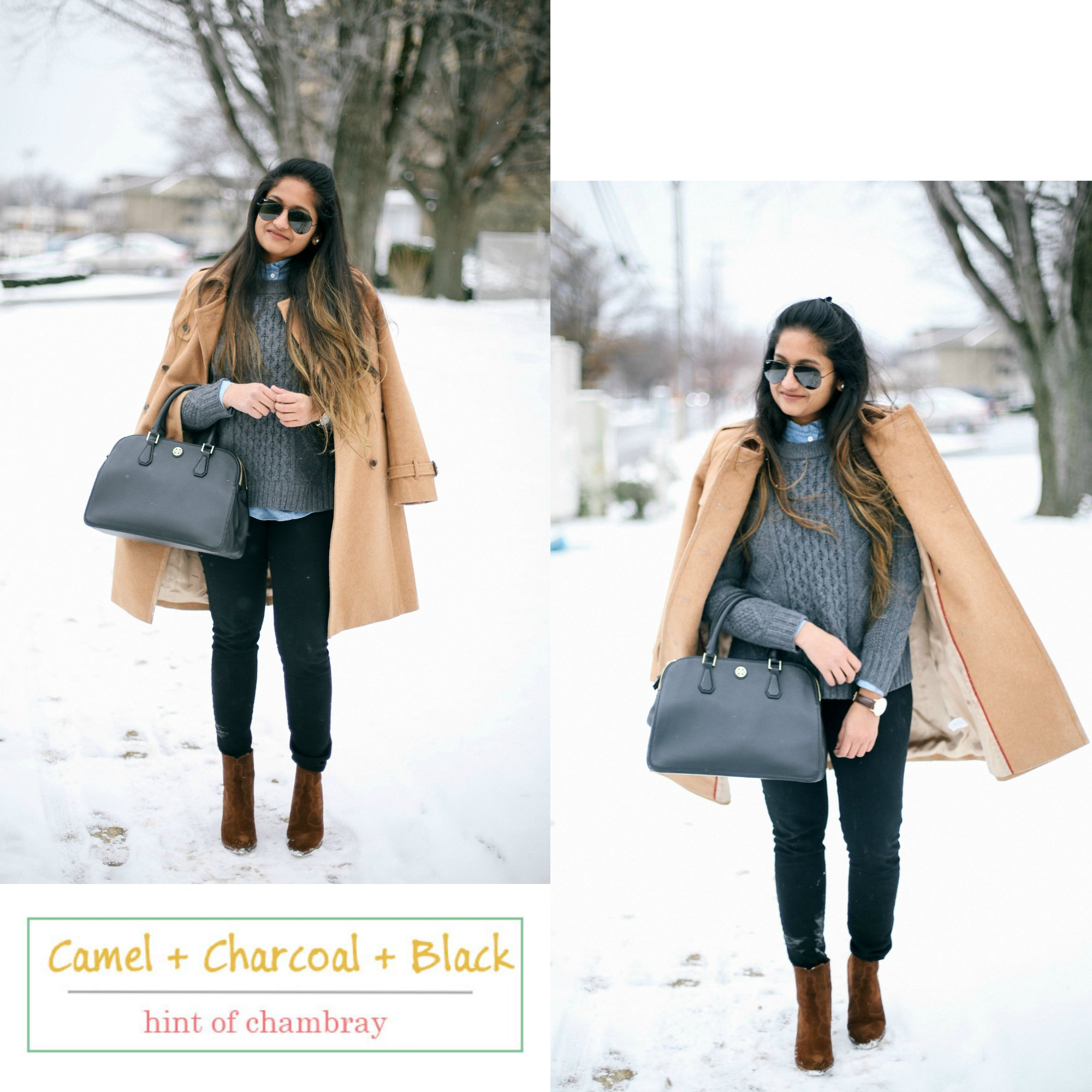how-to-wear-neutrals-in-winter - 6 Winter Neutral Color Combinations featured by popular Ohio modest fashion blogger, Dreaming Loud