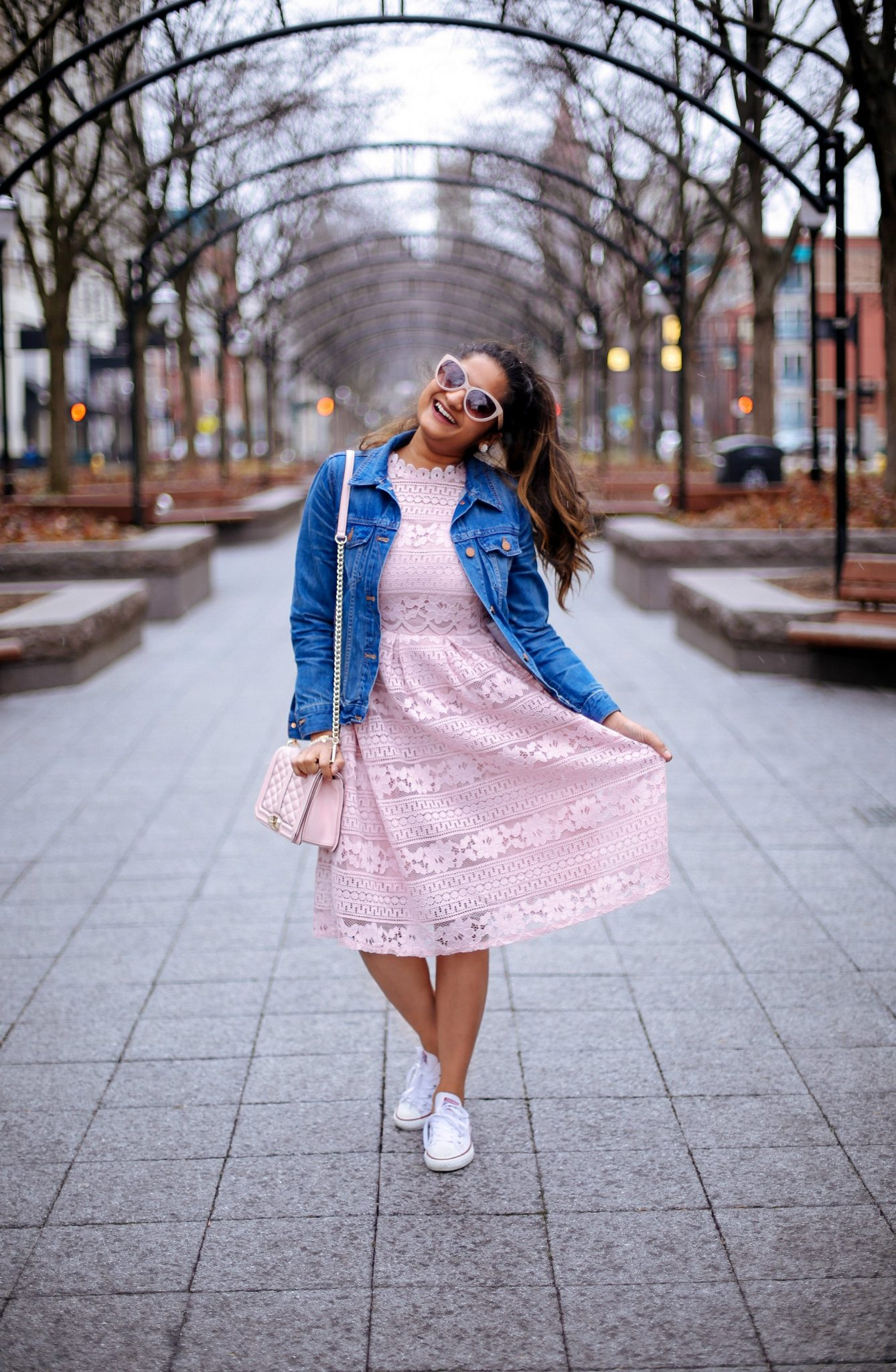 lifestyle blog dreaming loud wearing madewell the jean jacket in pinter wash