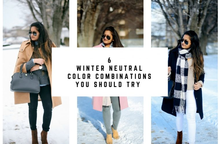 winter-neutral-color-combintions - 6 Winter Neutral Color Combinations featured by popular Ohio modest fashion blogger, Dreaming Loud