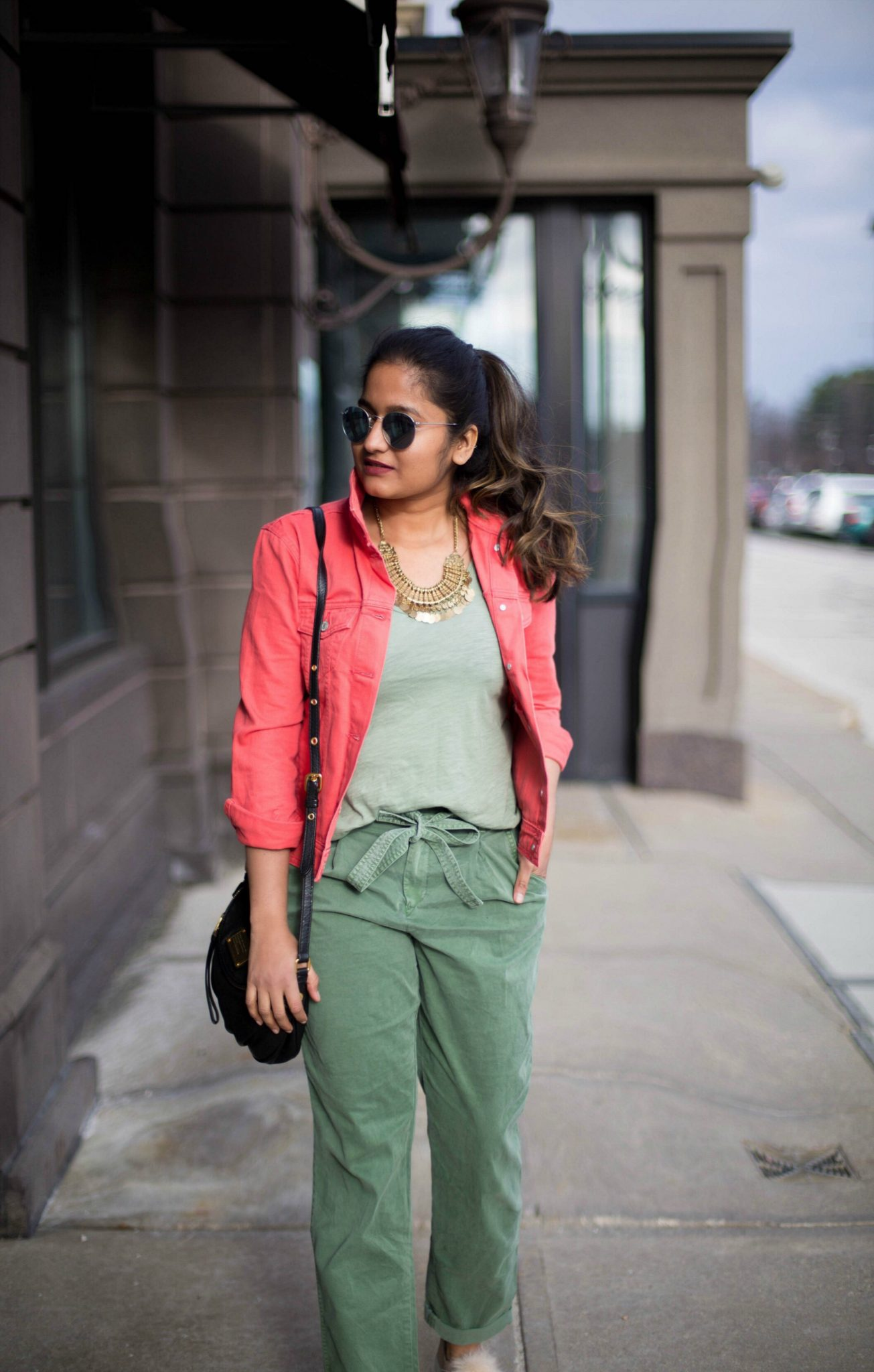 5-ways-to-wear-khaki-trend - How To Wear Khaki featured by popular modest fashion blogger, Dreaming Loud