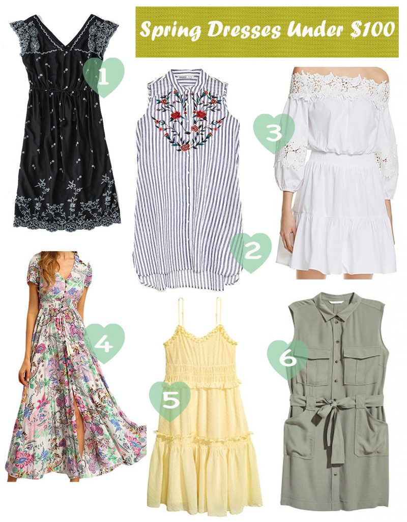 Spring-or-summer-dresses-under-100 - The Best Spring Summer Dresses featured by Ohio modest fashion blogger, Dreaming Loud