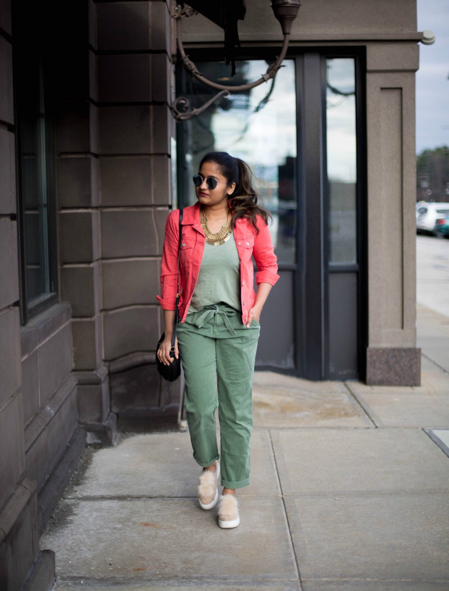 how-to-wear-khaki-or-army-color-for-spring