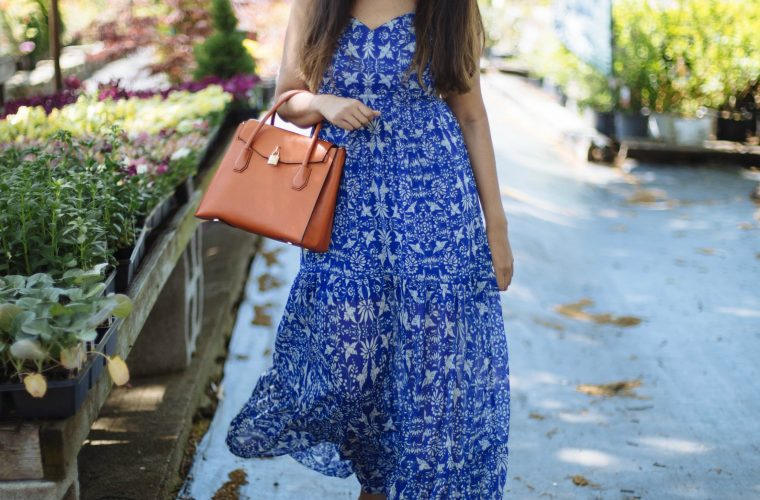 wearing target Xhilaration Tiered Maxi Dress