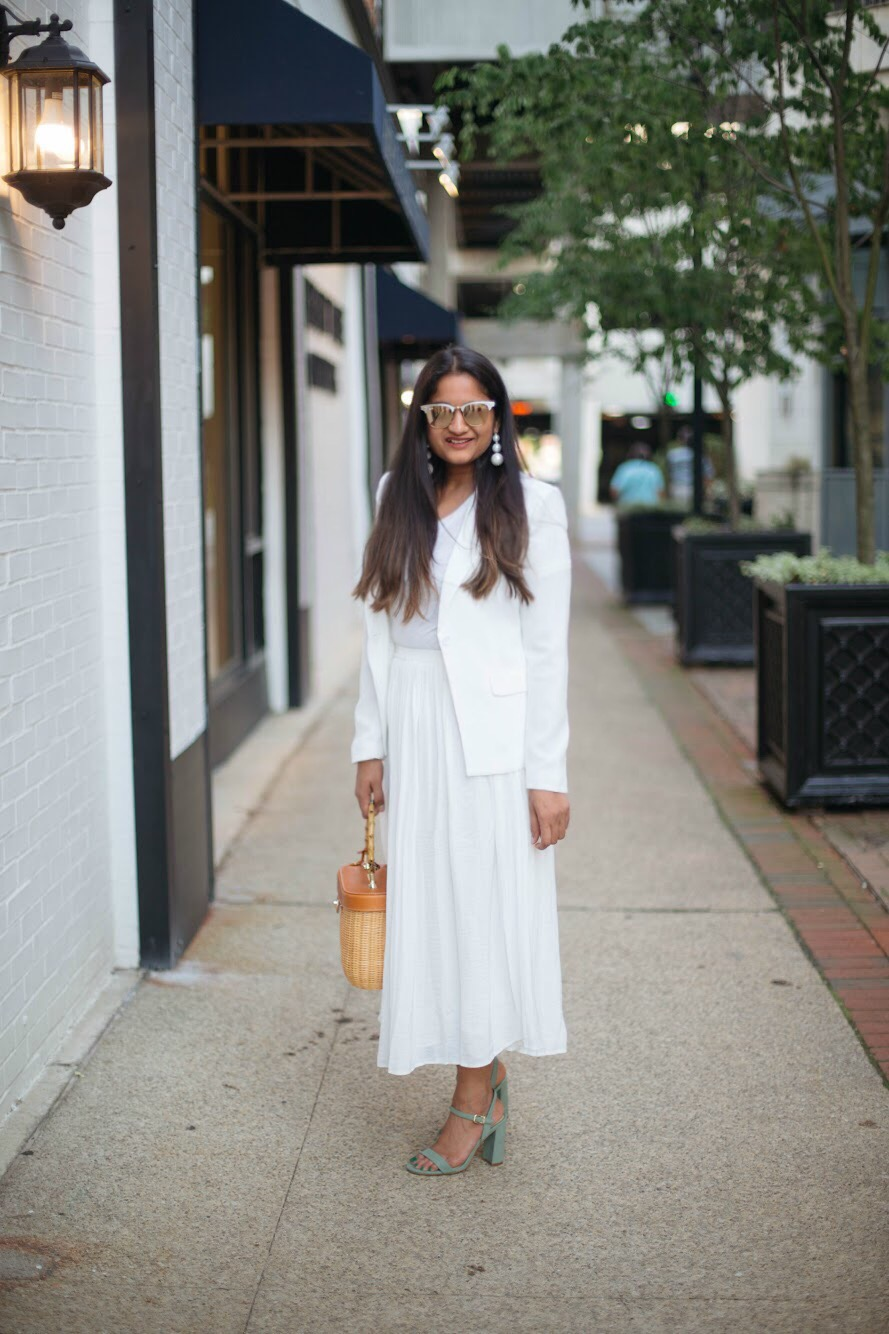 An-all-white-summer-outfit-dreaming-loud - An All White Summer Outfit featured by popular Ohio modest fashion blogger, Dreaming Loud