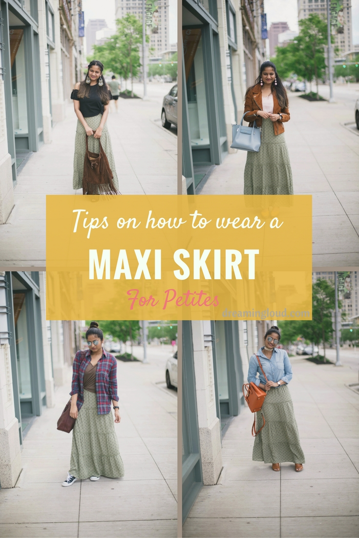 tips-on-how-to-wear-maxi-skirts-for-Petites-dreaming-loud - Maxi Skirts For Petites featured by popular Ohio modest fashion blogger, Dreaming Loud