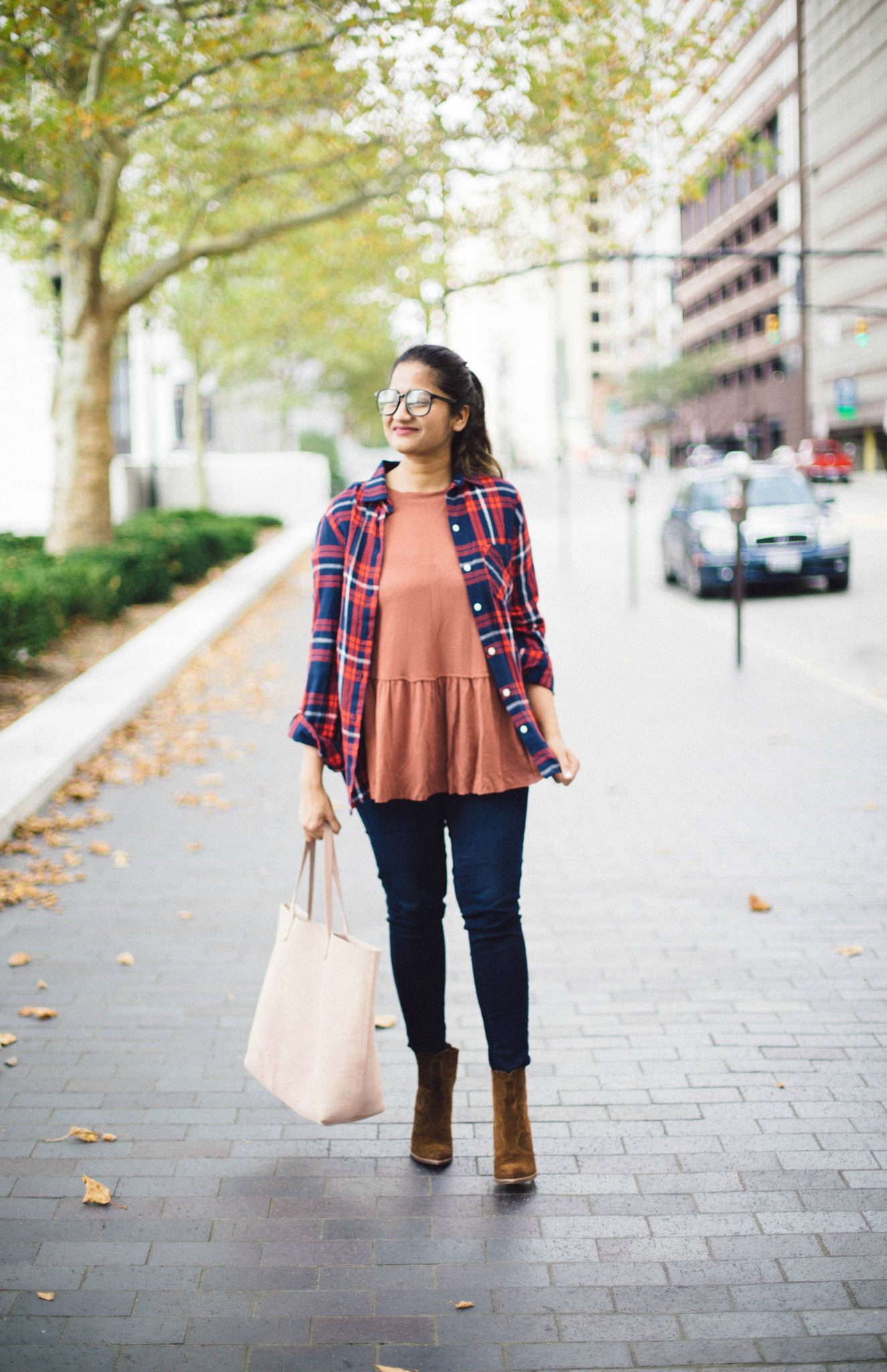 dolce-vita-Conway-booties - Back To School Outfits For College Students featured by Ohio modest fashion blogger, Dreaming Loud