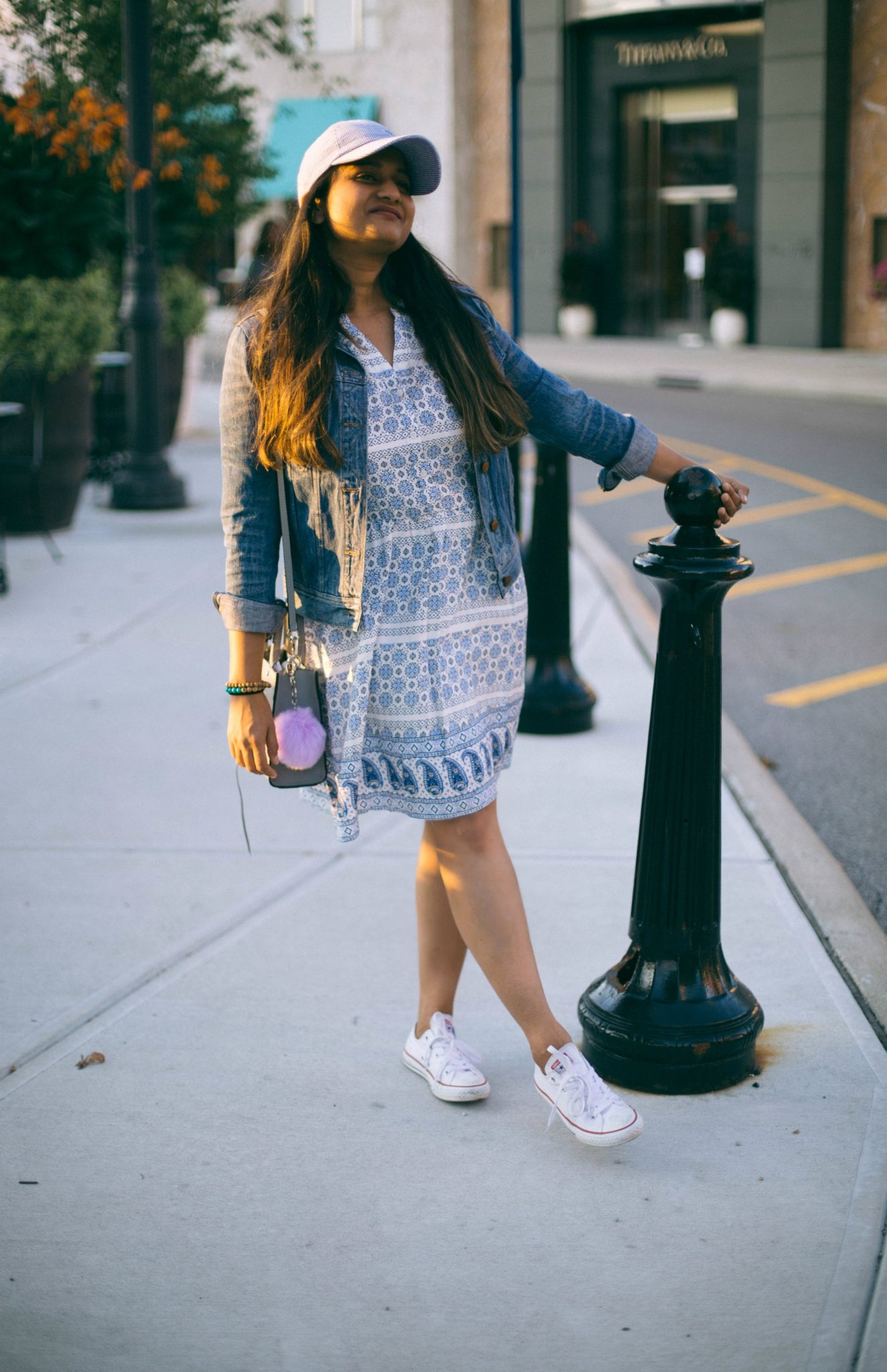 how-to-wear-converse-with-dress - Back To School Outfits For College Students featured by Ohio modest fashion blogger, Dreaming Loud