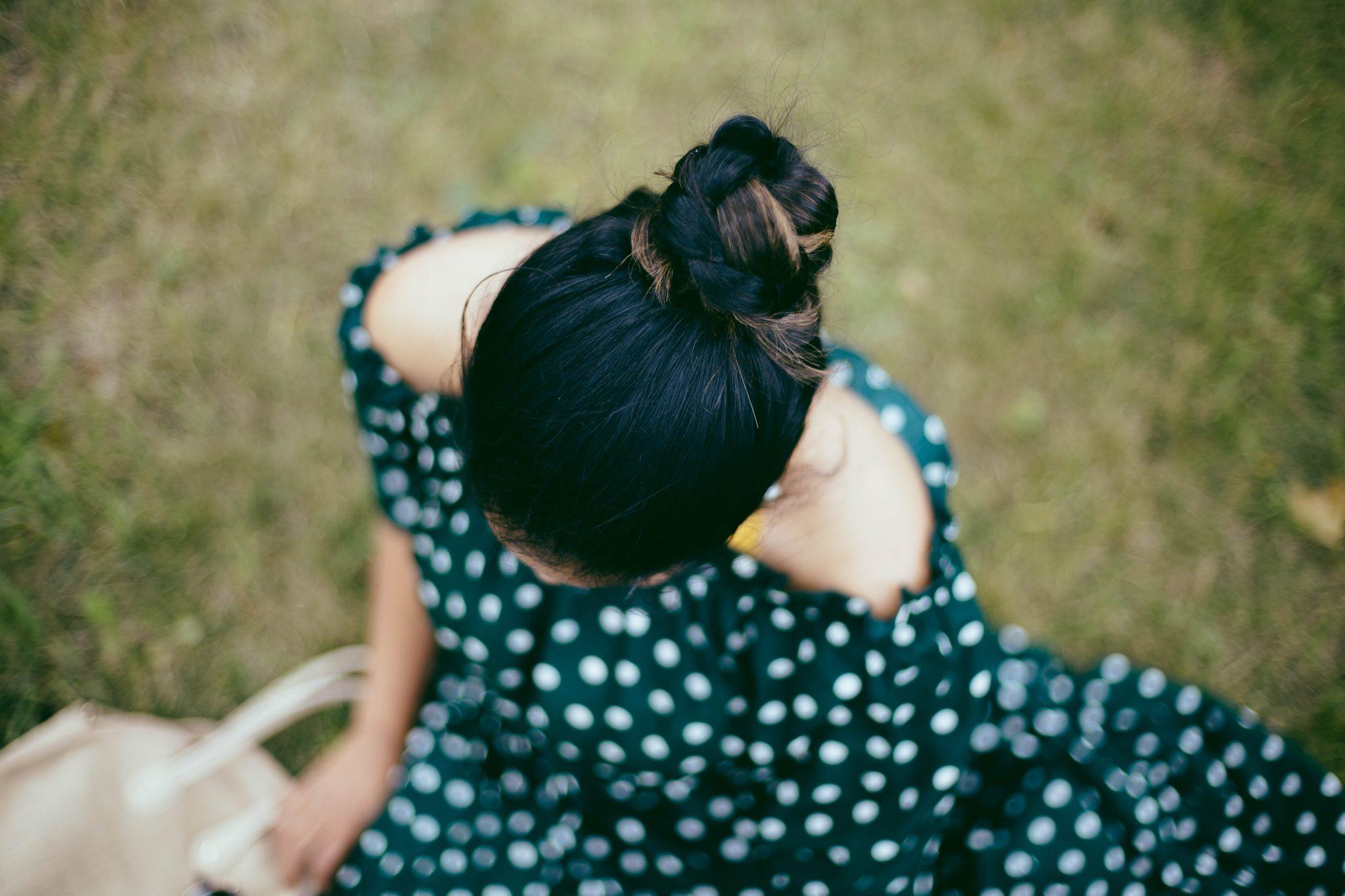 lifestyle-blogger-surekha-of-dreaming-loud-wearing-braided-bun