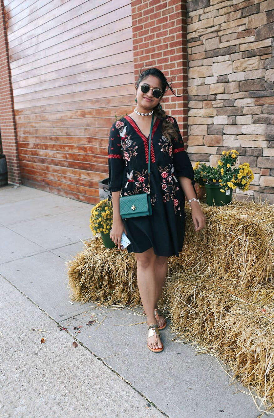 Lifestyle Blogger Surekha of Dreaming Loud Sharing Indian Fusion Diwali Outfit Ideas
