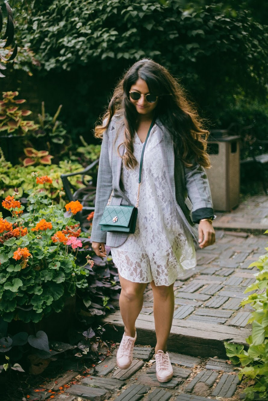 Lifestyle Blogger Surekha of Dreaming Loud wearing Rachel Rachel Roy Elizabeth Dress