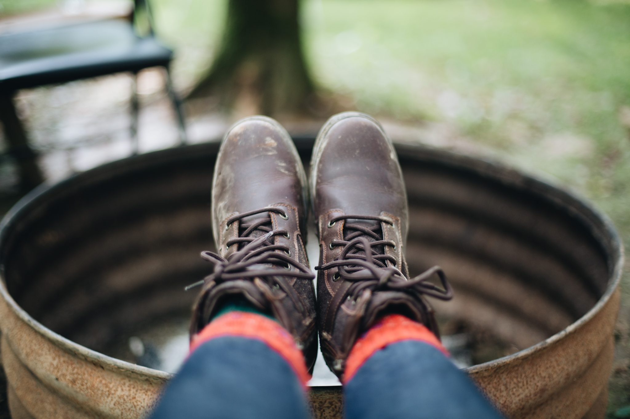 Lifestyle Blogger Surekha of dreaming loudwearing Ugg Kesey Waterproof Boot - Fall Camping Checklist featured by popular Ohio lifestyle blogger, Dreaming Loud