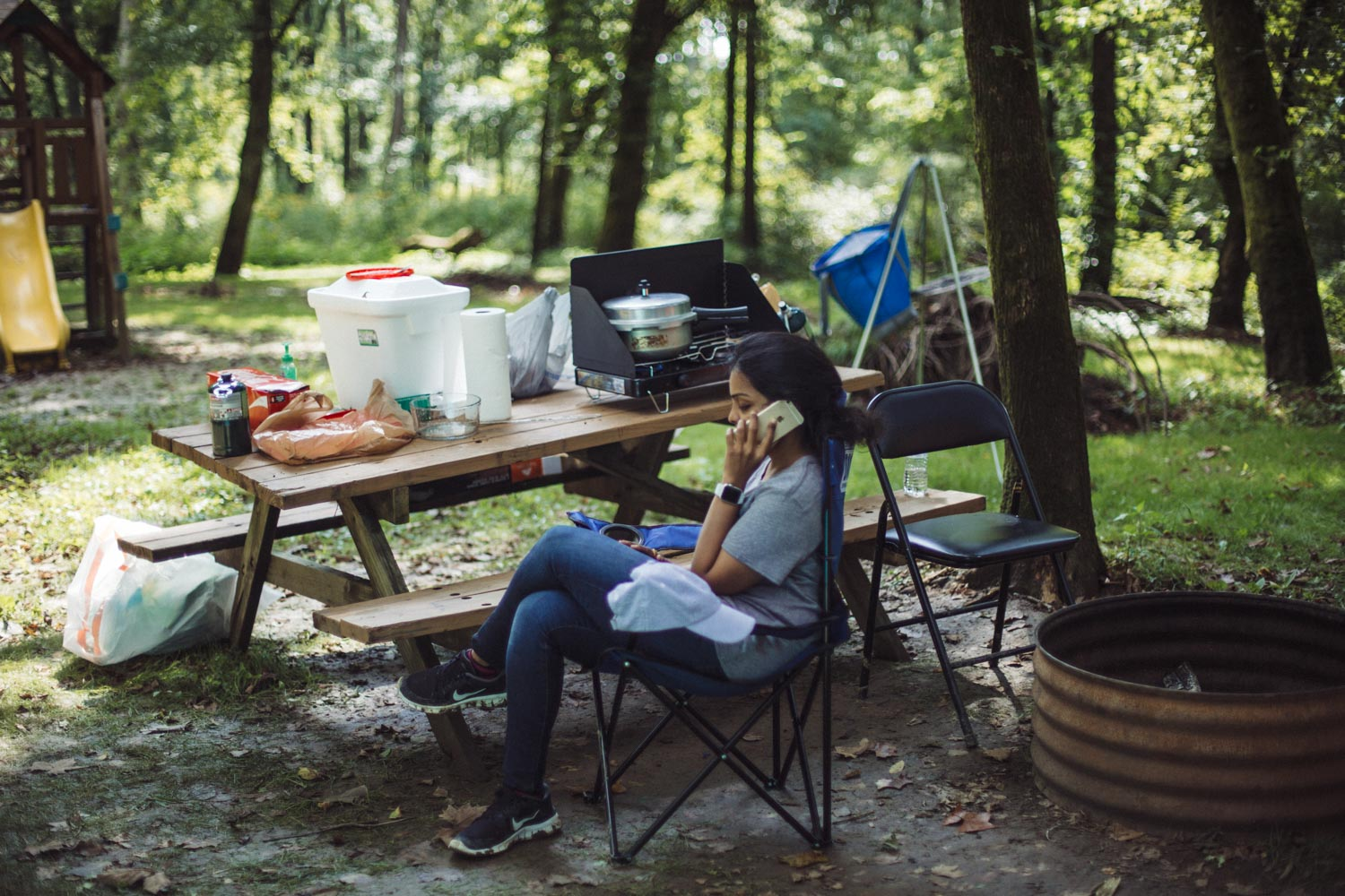 Lifestyle blogger Surekha of Dreaming Loud sharing fall camping checklist4 - Fall Camping Checklist featured by popular Ohio lifestyle blogger, Dreaming Loud