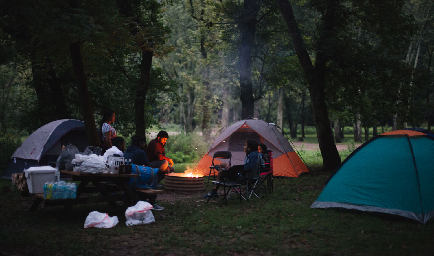 Lifestyle blogger Surekha of Dreaming Loud sharing fall tent camping checklist on what to expect, what to wear and what to bring with you 2 - Fall Camping Checklist featured by popular Ohio lifestyle blogger, Dreaming Loud