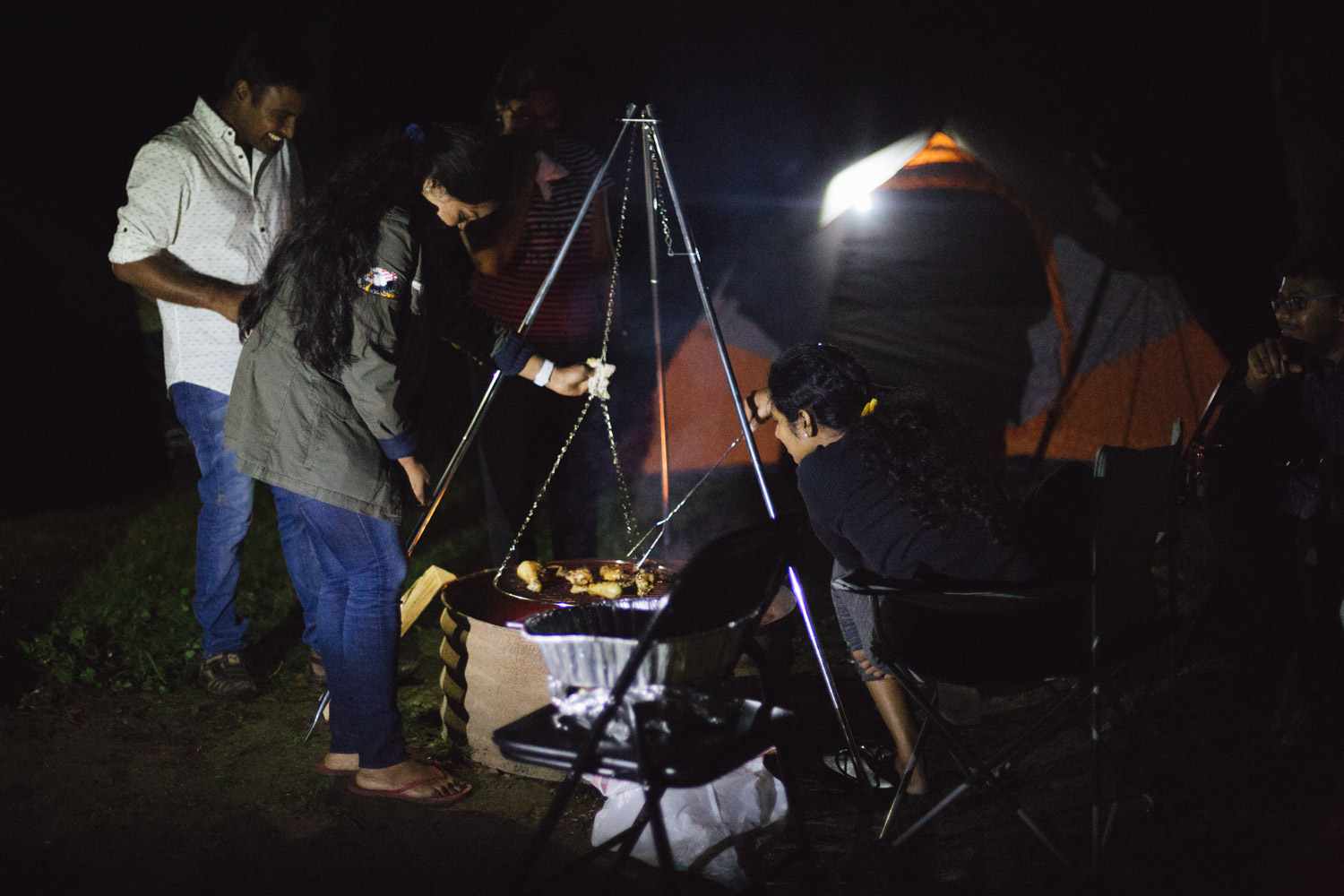 Lifestyle blogger Surekha of Dreaming Loud sharing what gears to take with you for a camping trip in fall 1 - Fall Camping Checklist featured by popular Ohio lifestyle blogger, Dreaming Loud