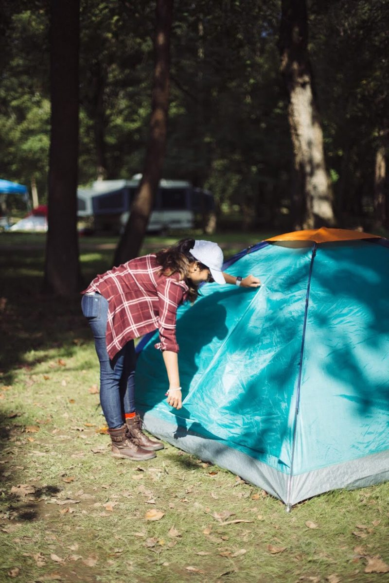 Lifestyle Blogger Surekha Of Dreaming Loud Sharing What To Bring With You For A Fall Camping