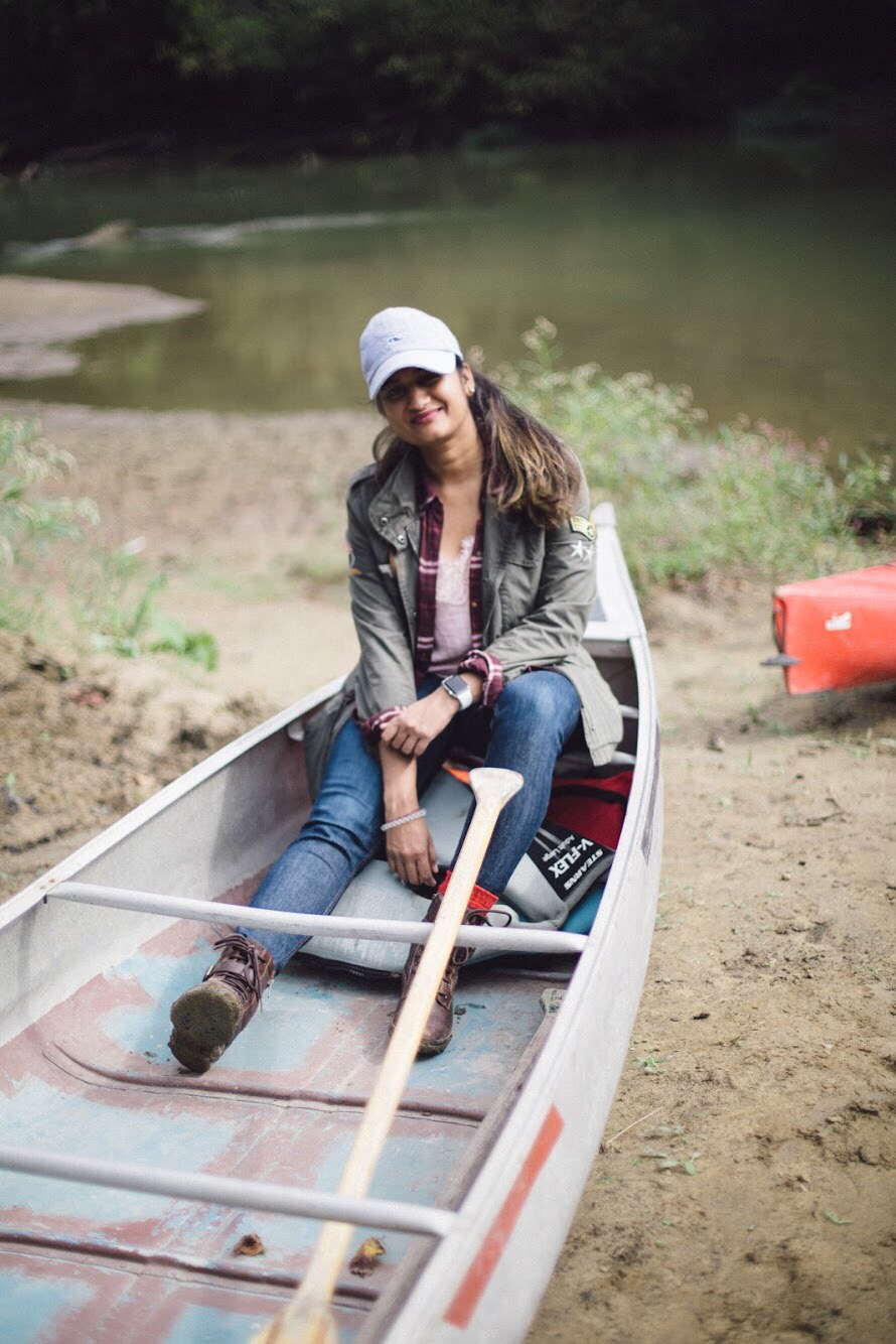Lifestyle blogger Surekha of Dreaming Loud sharing what to wear for a fall camping trip - Fall Camping Checklist featured by popular Ohio lifestyle blogger, Dreaming Loud