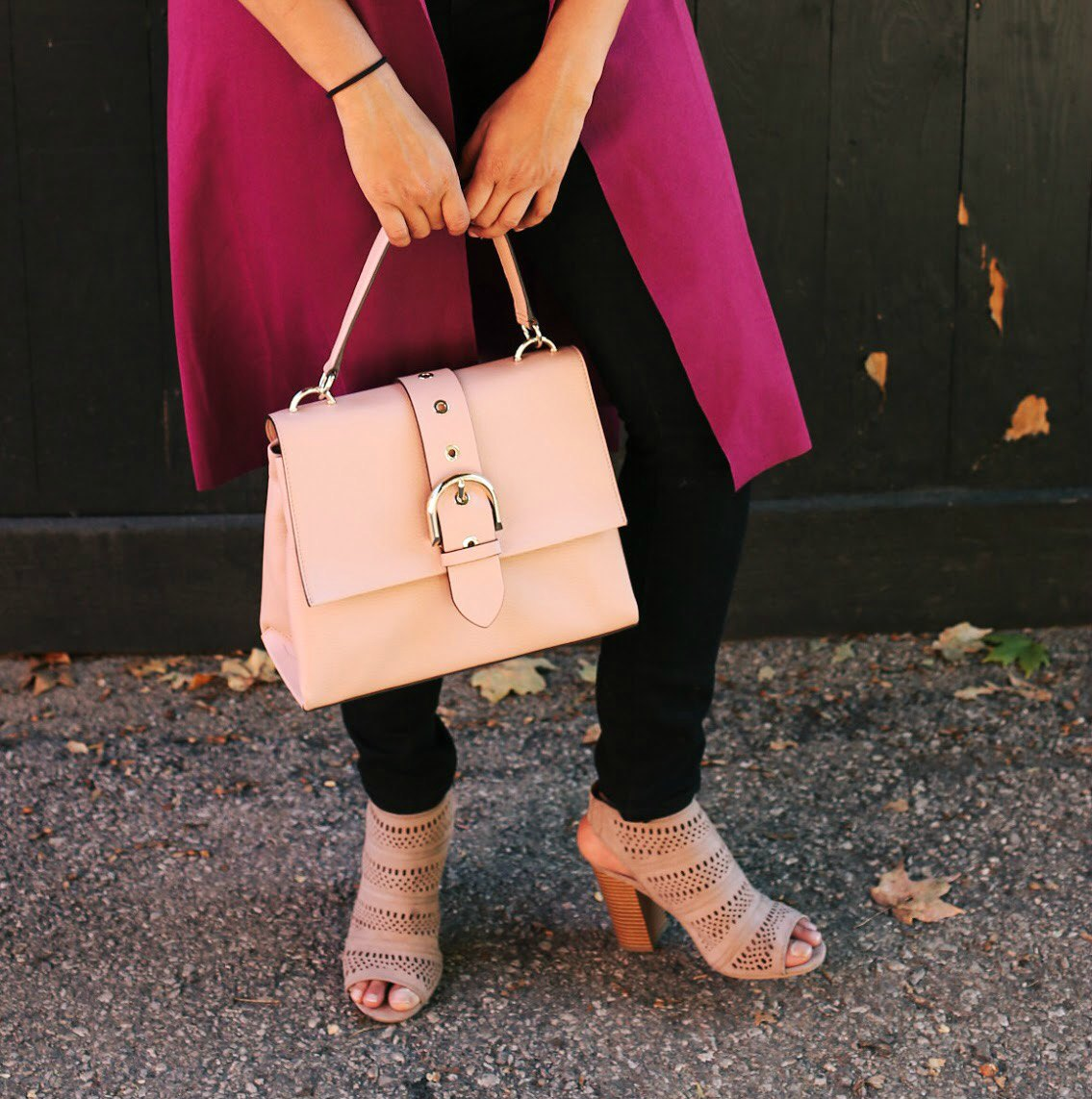 Lifestyle blogger Surekha of Dreaming Loud wearing Henri Bendel Riverside Top Handle Satchel1