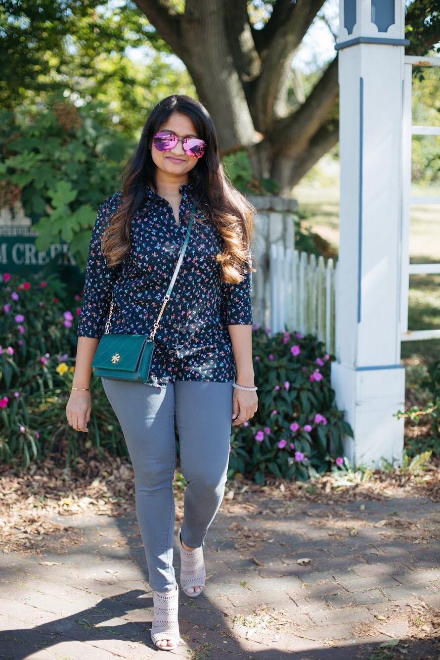Lifestyle blogger Surekha of Dreaming loud sharing Old anvy Fall favorites under $50