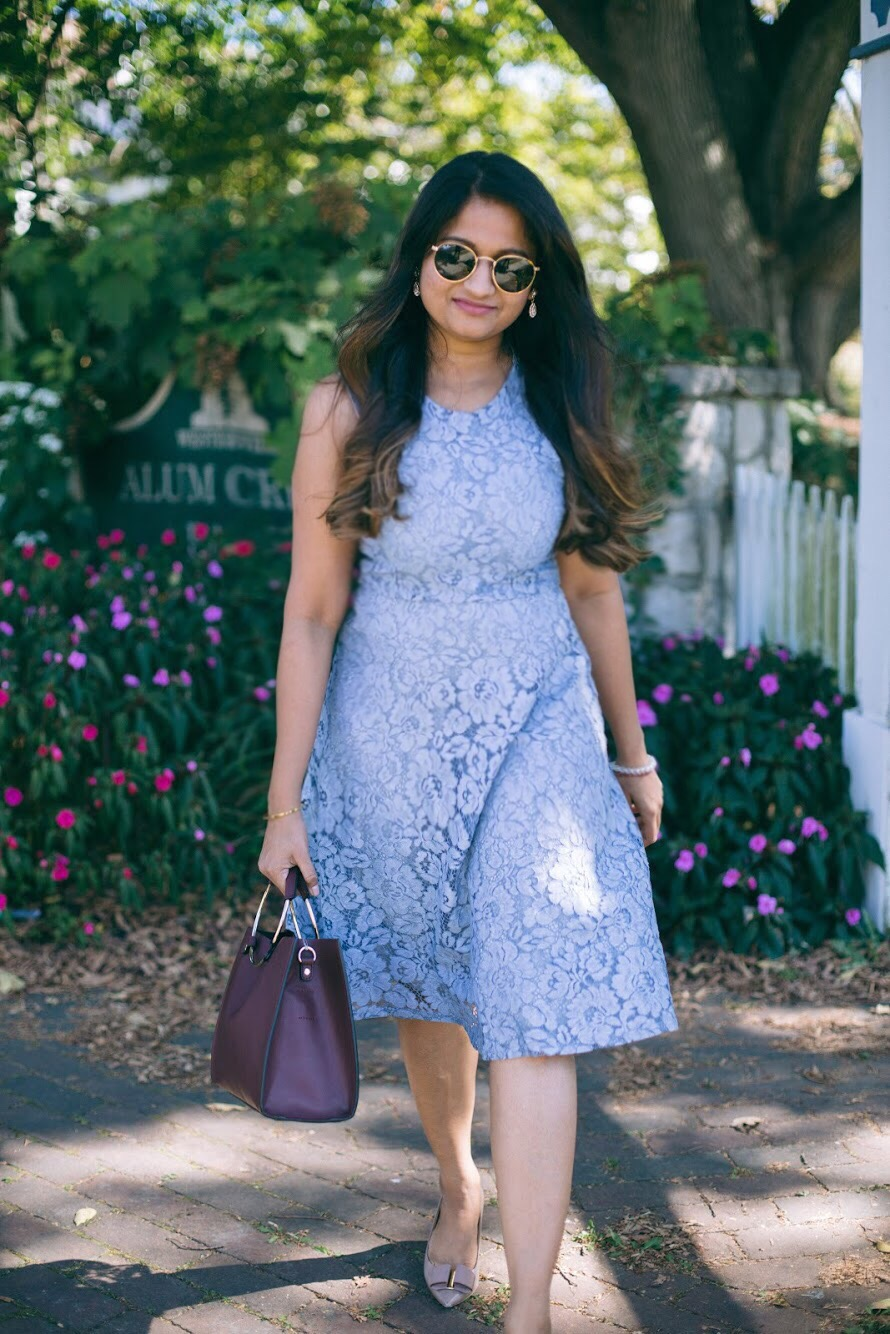 Lifestyle blogger Surekha of dreaming loud wearing Soprano Popover Lace Dress 7 - Know Your Worth! featured by popular Ohio lifestyle blogger, Dreaming Loud