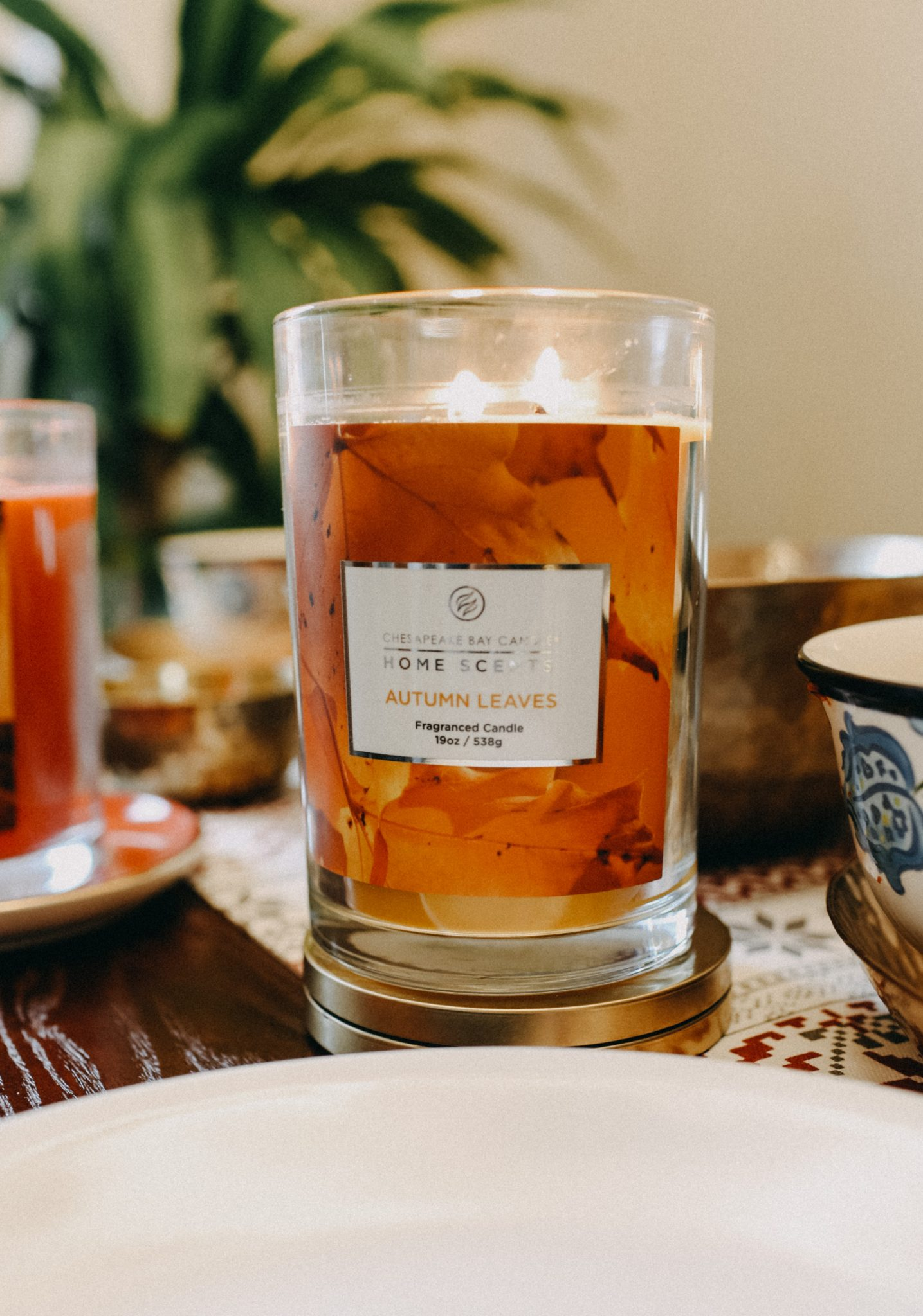 Chesapeake Bay Candles Home collection Autumn Leaves Scent