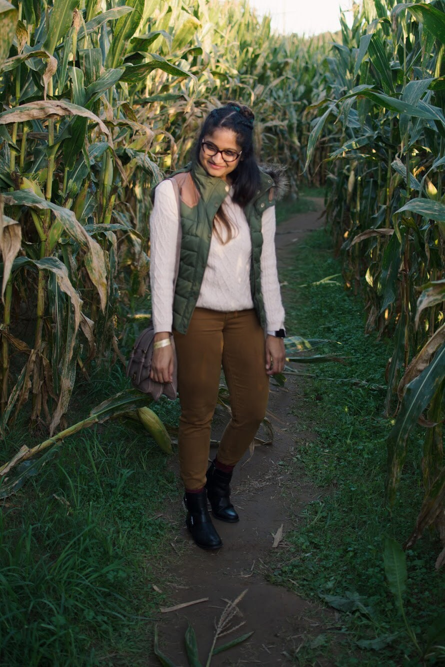 lifestyle blogger Surekha of Dreaming Loud wearing Aetrex moto boots