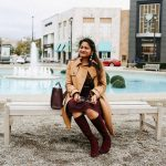 Lifestyle blogger Surekha of dreaming loud wearing J.Crew Icon trench coat in Italian wool cashmere in camel 2