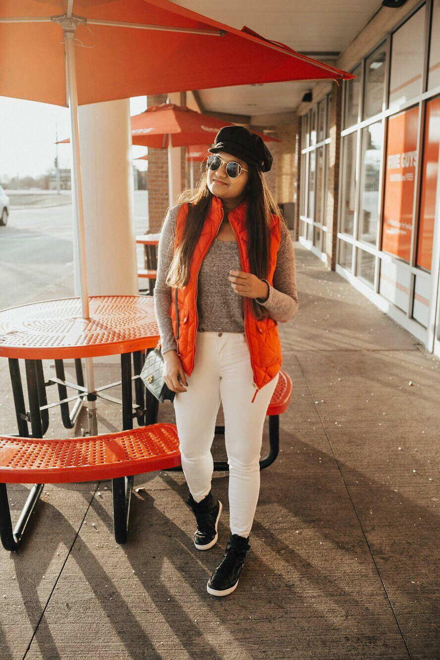 Lifestyle blog dreaming loud wearing Liverpool ABBY SKINNY
