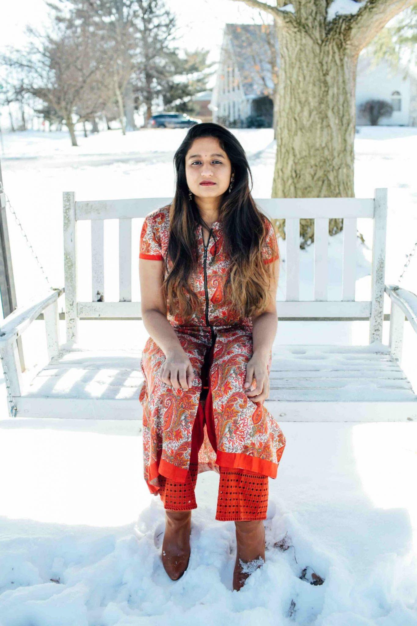 lifestyle blog dreaming loud sharing Makar Sankranti or pongal Outfit 2