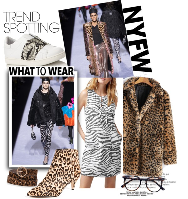 Lifestyle Blog Dreaming Loud sharing 5 Wearable Fall 2018 Fashion Trends from New York Fashion Week -Animal Print Trend| New York Fashion Week trends featured by popular Ohio modest fashion blogger, Dreaming Loud