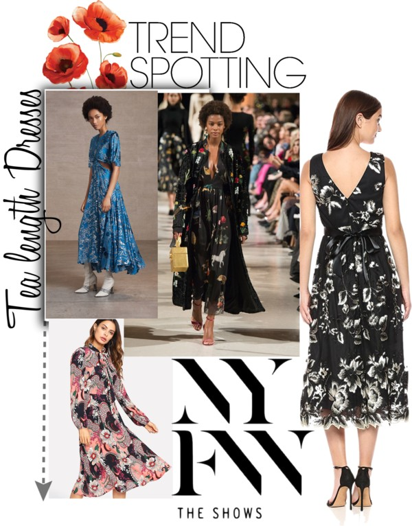 Lifestyle Blog Dreaming Loud sharing 5 Wearable Fall 2018 Fashion Trends from New York Fashion Week -Tea length dress trend| New York Fashion Week trends featured by popular Ohio modest fashion blogger, Dreaming Loud