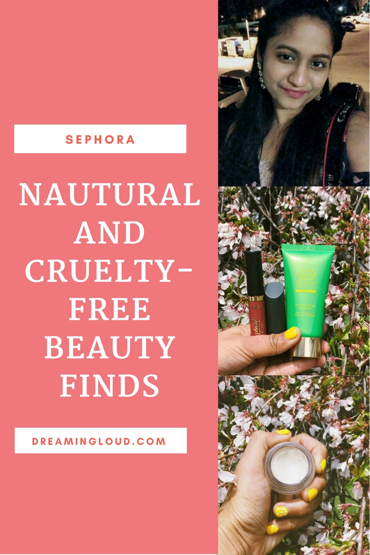 Lifestyle and natural beauty blog dreamingloud sharing Favorite Natural and Cruelty-Free Beauty Products From Sephora 5 - Cruelty Free Beauty Products From Sephora featured by natural beauty blogger, Dreaming Loud