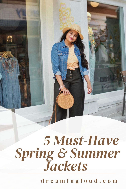 5 Must Have Spring & Summer Lightweight Jackets