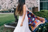 Modest Fashion and lifestyle Blog dreaming loud wearing Anthropologie white maxi dress