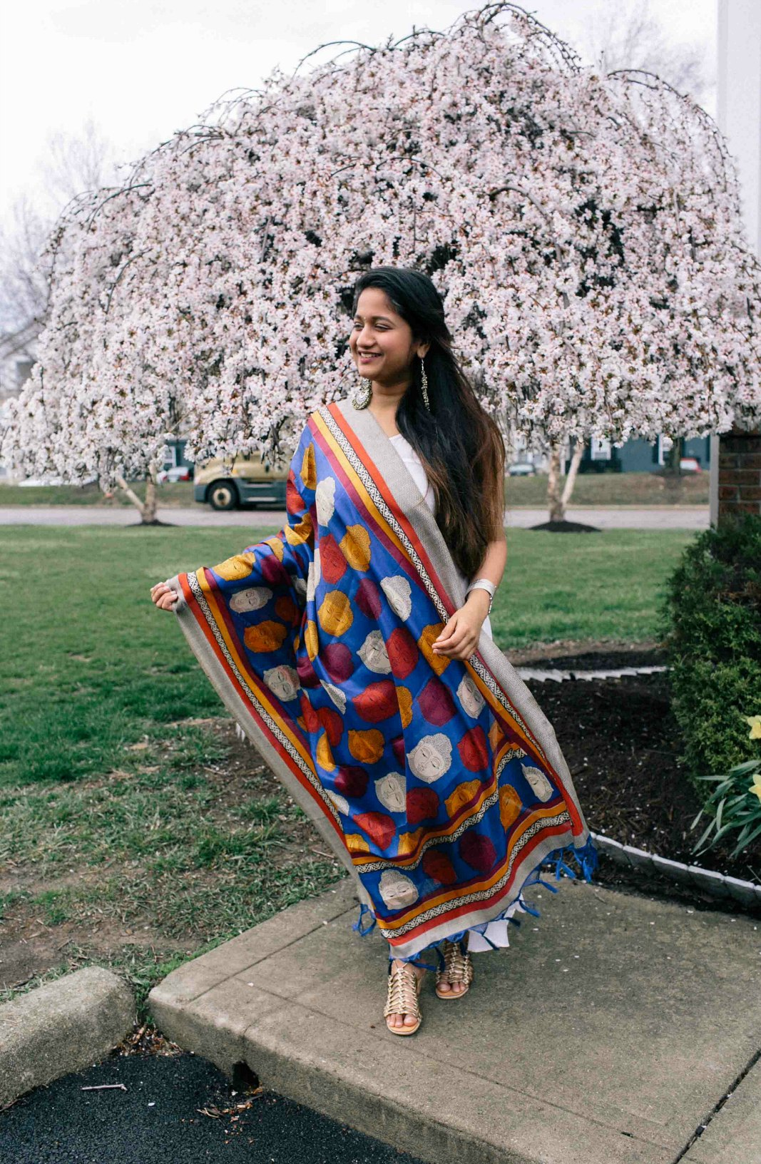 Modest and Lifestyle blog dreaming loud wearing and sharing spring 2018 indo western style - Indo-Western Spring Outfit featured by popular modest fashion blogger, Dreaming Loud