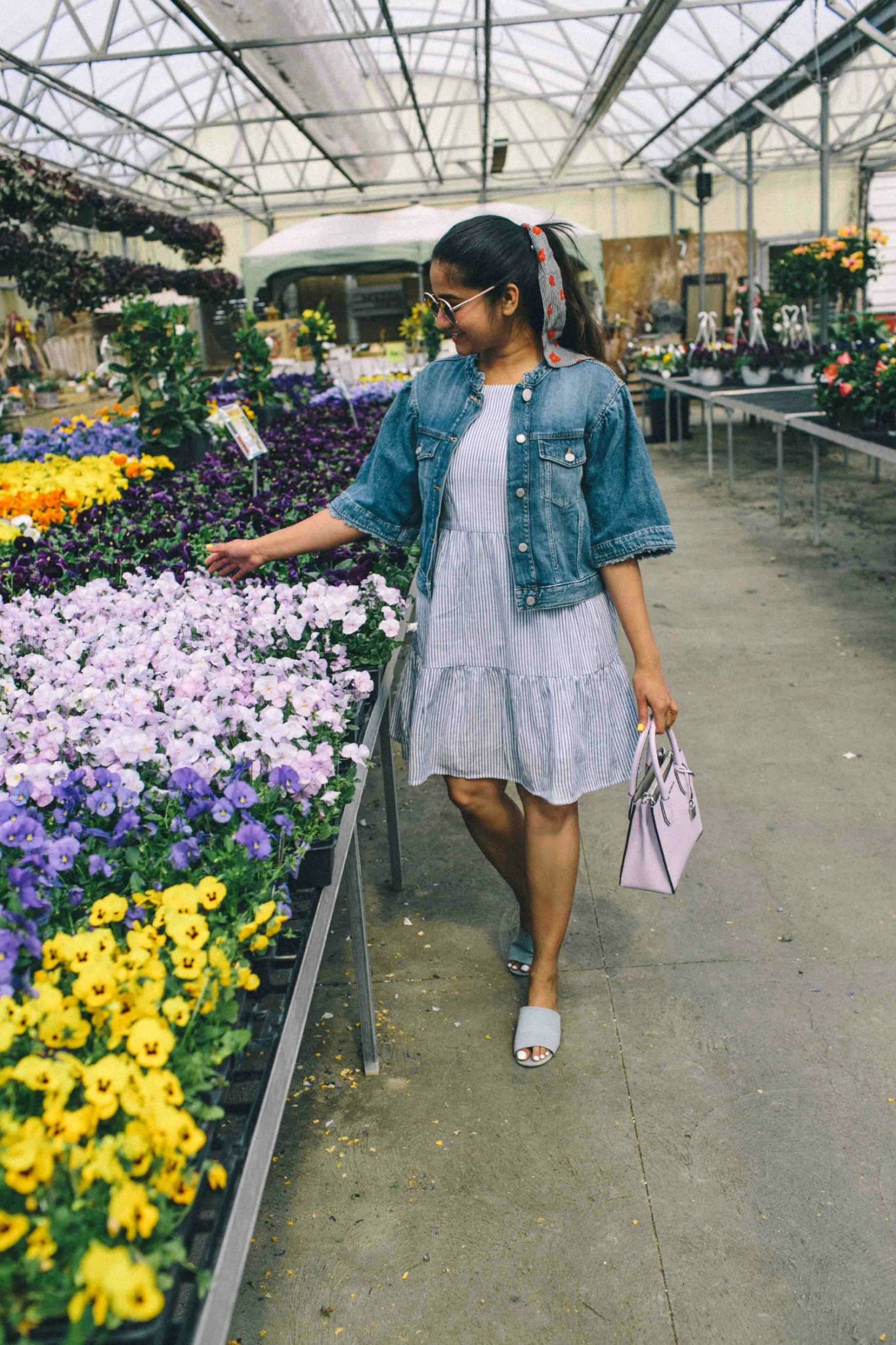Gap Icon Bell-Sleeve Denim Jacket -Must Have Spring & Summer Lightweight Jackets featured by popular Ohio modest fashion blogger, Dreaming Loud