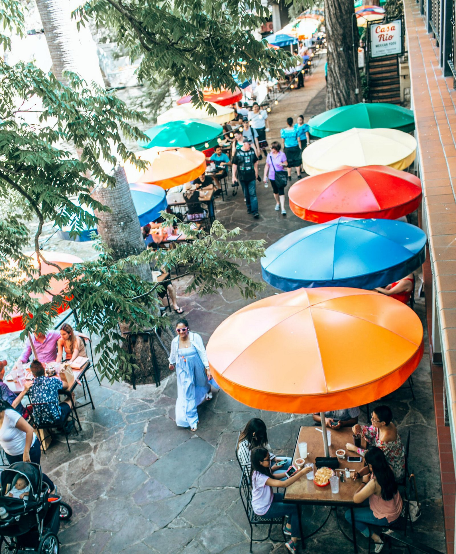 Casa Rio San Antonio Texas - A Day in Austin and San Antonio -Attractions, Where to Eat and What to Wear featured by popular Ohio travel blogger, Dreaming Loud