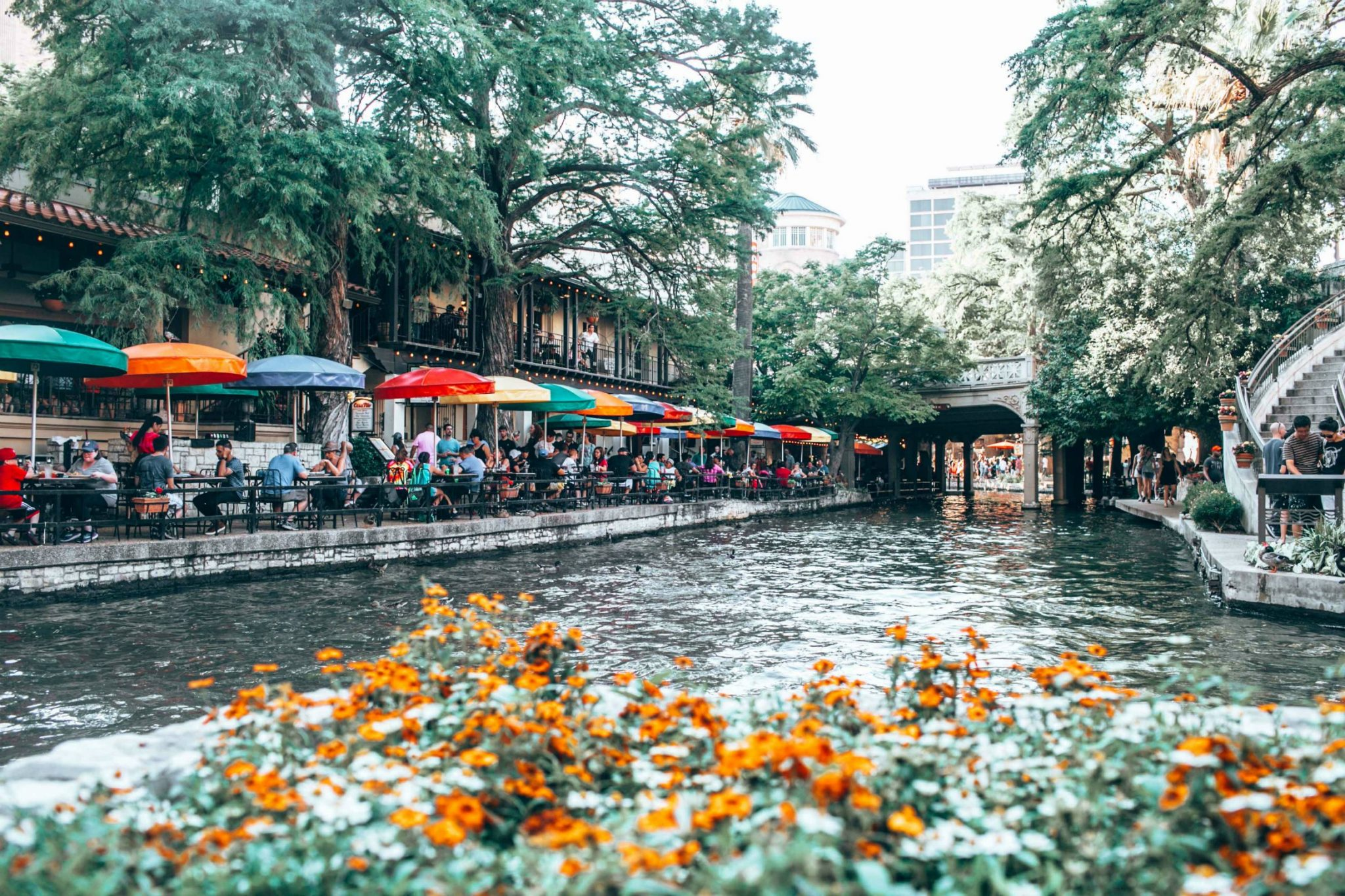 River Walk San Antonio Texas - A Day in Austin and San Antonio -Attractions, Where to Eat and What to Wear featured by popular Ohio travel blogger, Dreaming Loud