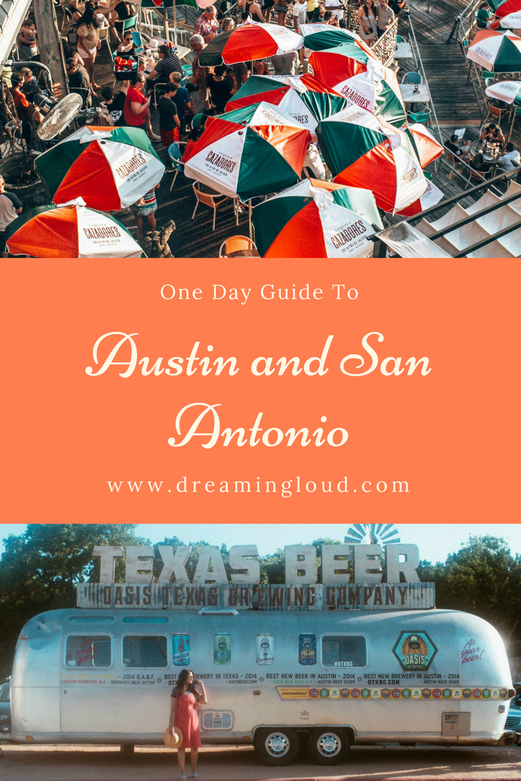 one day in Austin and San Antonio- Things to do, where to eat, what to wear - A Day in Austin and San Antonio -Attractions, Where to Eat and What to Wear featured by popular Ohio travel blogger, Dreaming Loud