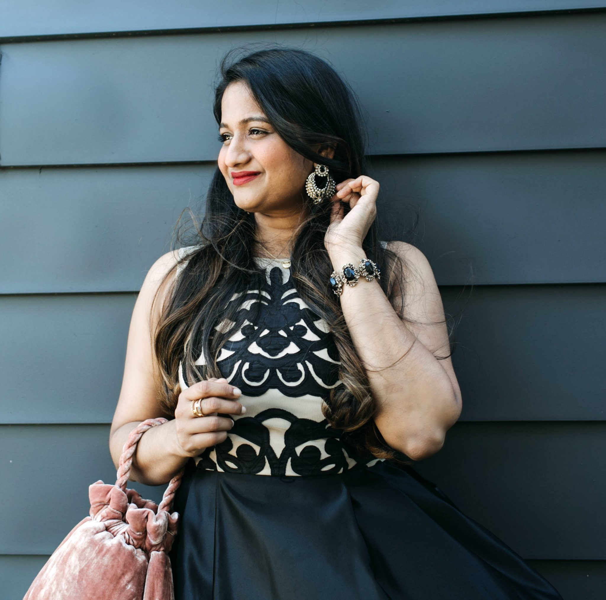 long frocks for Indian weddings 2 | | Cute Wedding Guest Dresses for Summer featured by popular Ohio modest fashion blogger, Dreaming Loud